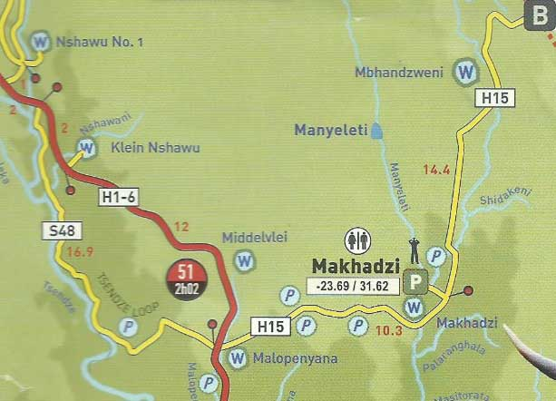 from Tinker's Kruger Park Map & Guide