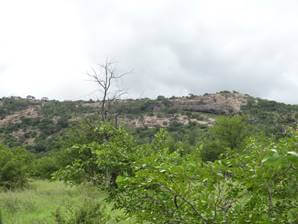 Part of the Lebombo Range.